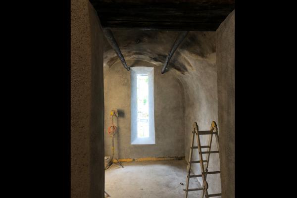 Baustelle Chasa Vital September 2018