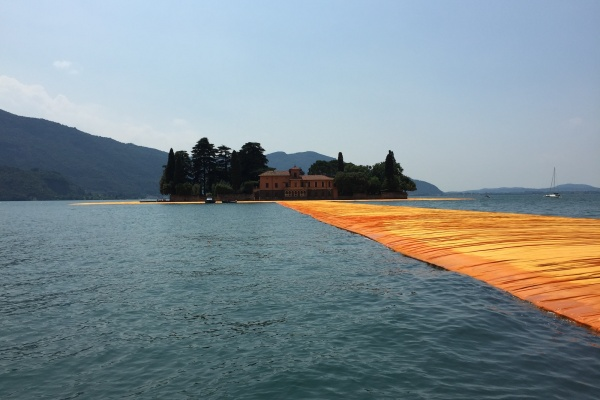 BÜROAUSFLUG JULI 2016 - THE FLOATING PIERS  LAGO D'ISEO