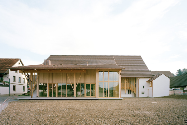 Dorfschüür Würenlingen - Fertigstellung Oktober 2020
