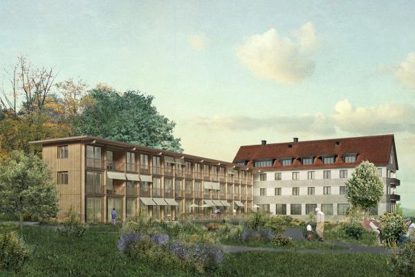 *2.RANG* - Wettbewerb Erweiterung Emilienheim, Kilchberg
