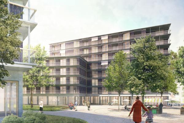 *1.RANG* - Wettbewerb Neubau Wohn - und Alterszentrum Sihlsana, Adliswil