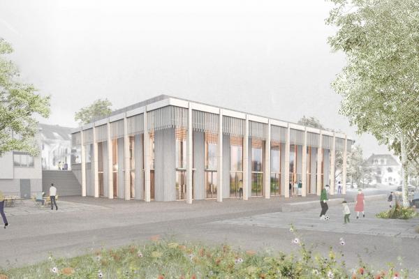 Neuer Gemeindesaal Strengelbach